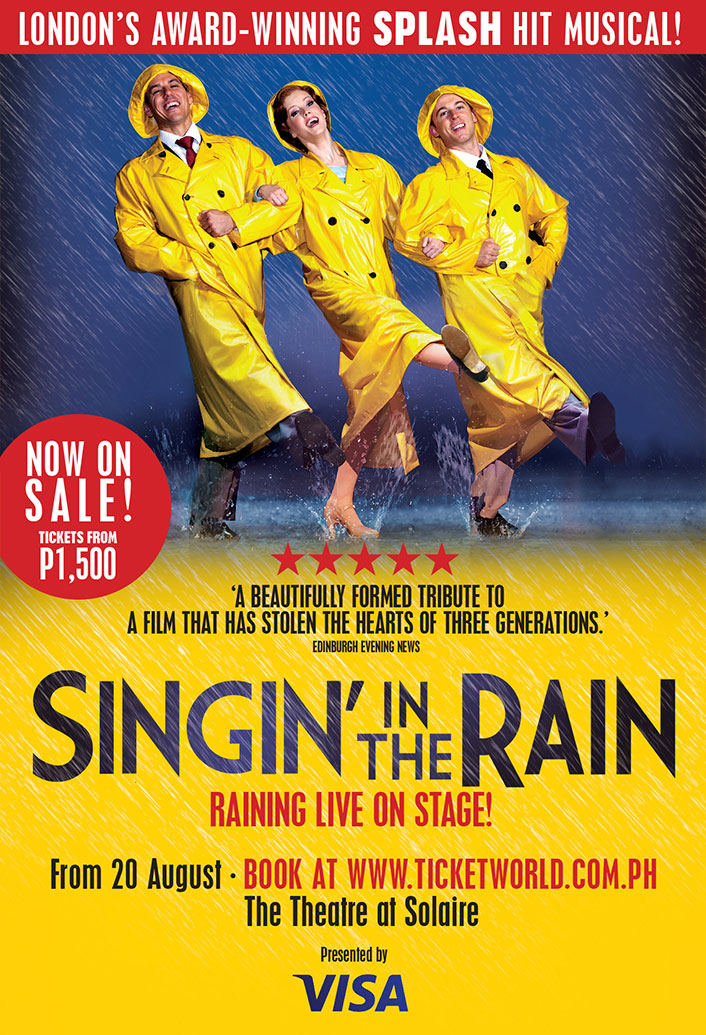 singin� in the rain the musical is in manila solaire
