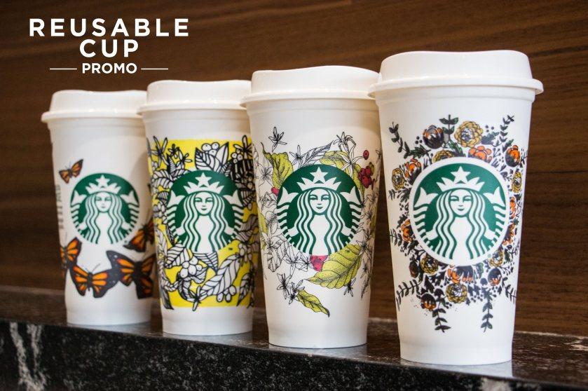 e431690a7eb Go Green with Starbucks Reusable Cup Eco friendly Promo | Live Dance ...